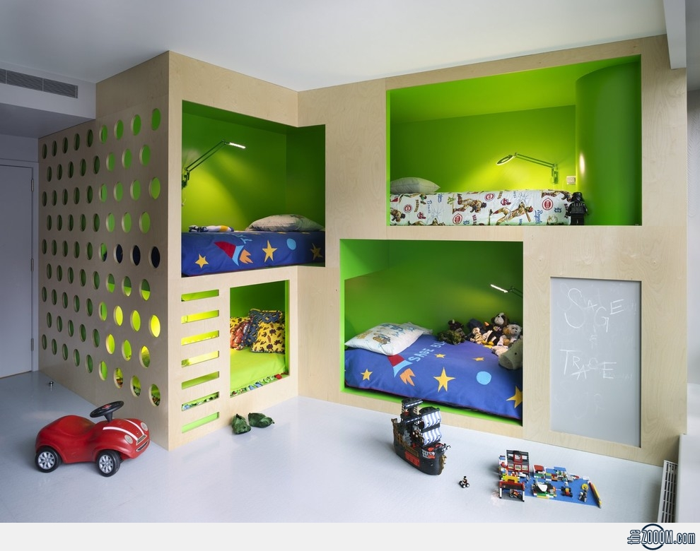 A Bedroom For 4 Kids